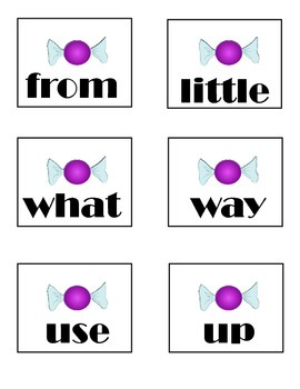 Candy Theif-Sight Word Game {READING STREET-1ST GRADE}