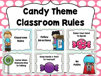 Candy Classroom Decor Bundle