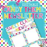 Candy Theme Editable Newsletter Template
