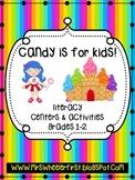 Candy Theme Language Centers Grades 1-2