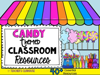 Candy Theme Decor Pack