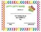 Candy Themed Class Award Certificates