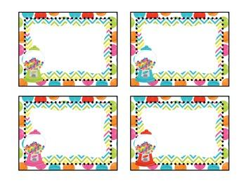 Candy Themed Classroom Decor