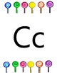 Candy Themed Classroom Decor- Alphabet Posters