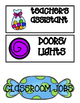 Candy Themed Classroom Jobs