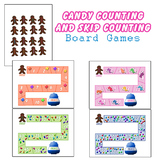 Candy Themed Counting and Skip Counting Board Games