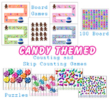 Candy Themed Counting and Skip Counting File Folder Activi