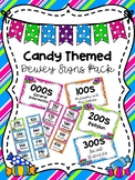 Candy Themed Dewey Signs Pack