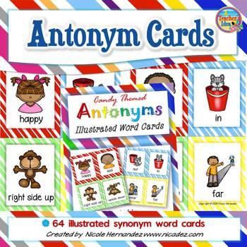 Antonyms - {Bright Stripes}