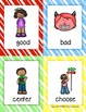 Synonyms - Illustrated Word Cards (Bright Candy Theme)