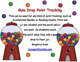 Candy Themed Point Tracking