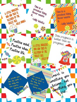 Candy Themed Positive Quotes