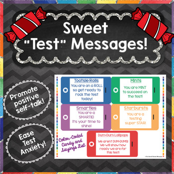 Candy-Themed Positive Test Sayings