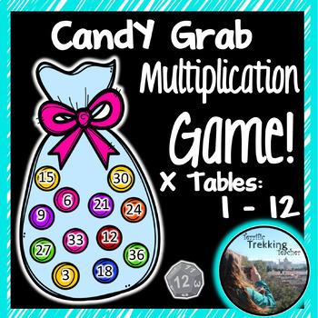 Candy Thief Multiplication Game