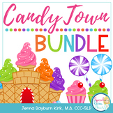 Candy Town Bundle: Speech and Language Therapy Candy Companion
