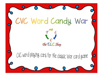 Candy War with CVC Words