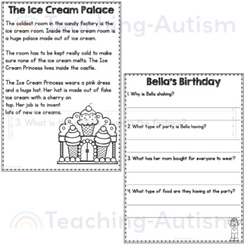 Candy World Comprehension