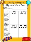 Candy Wrapper Rhythm Word Sort