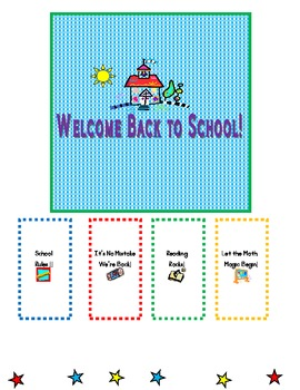 Candy Wrappers for Back to School Week!