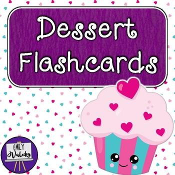 Candy and Dessert Flashcards #teachersloveteachers