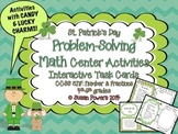 Candy and Fractions! Math Problem-Solving Activities St. Patrick's Style!