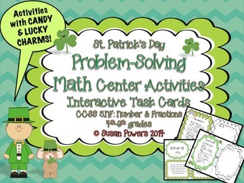 Candy and Fractions! Math Problem-Solving Activities St. P