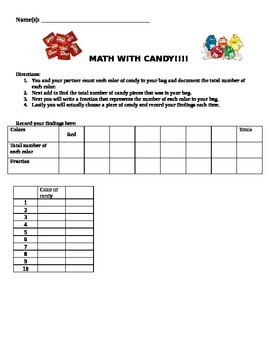 Candy and Probability!