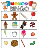 Candy and Sweets BINGO Game - Candy Activity for Room Tran