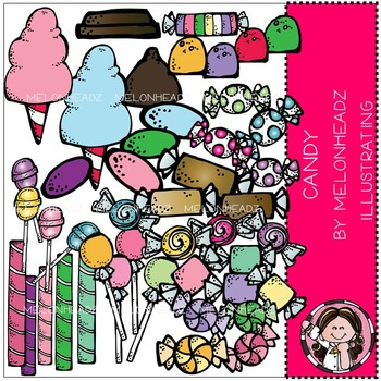 Candy clip art - COMBO PACK- by Melonheadz