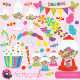 Candy clipart commercial use, vector graphics, digital - CL707