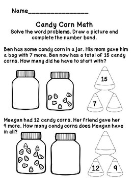 Candy corn Addition and Subtraction