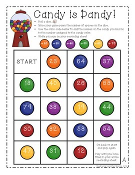 Candy is Dandy! Adding Multiples of Ten