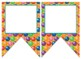 Candy themed EDITABLE bulletin board banners
