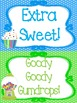 Candy themed Printable Classroom Accessories and Decor Bul