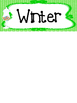 Candy themed Printable What Is the Season Bulletin Board Set.