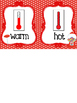Candy themed  Weather Clip Chart. Preschool-KDG. Class Acc