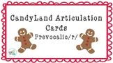CandyLand Articulation Cards Prevocalic /r/