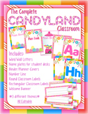 CandyLand Classroom *EDITABLE*