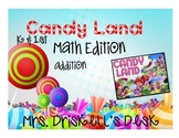 CandyLand Math Edition: Addition K-1