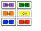 CandyLand Sight Word Game - All 4 Quarters of Sight Words- 105 total words