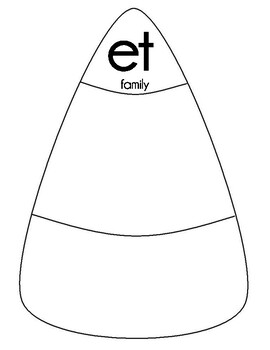 Candycorn Word Families