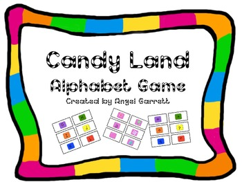 image about Candyland Letters Printable referred to as Candyland Alphabet Video game Playing cards