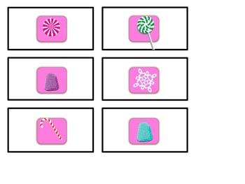 Candyland Alphabet Game Cards