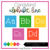 Candyland Alphabet Line