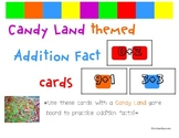 Candyland Cards - Addition Facts
