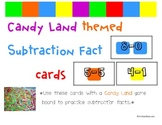 Candyland Cards - Subtraction Facts