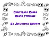 Candyland Cards Template (Blanks!)