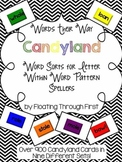 Candyland Cards for Word Their Way Within Word Pattern Spellers