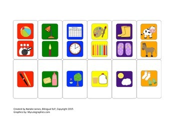"""Compare Contrast """"Candyland"""" Game Cards - Any Language"""