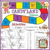 Candyland Express--Adjectives Game